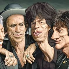 52 Amazing examples of Celebrity Caricatures