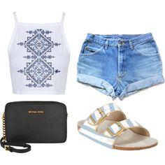 Designer Clothes, Shoes & Bags for Women Birkenstock, Topshop, Michael Kors, Shoe Bag, Polyvore, Stuff To Buy, Shopping, Accessories, Shoes