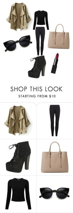 """""""Untitled #1"""" by mediasky ❤ liked on Polyvore featuring Breckelle's, MANGO, Pure Collection and NARS Cosmetics"""