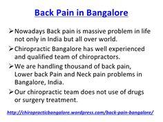 Back Pain in Bangalore, Lower Back Pain Treatment Bangalore.pptx