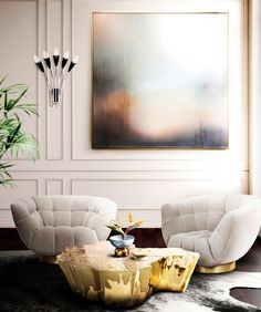 Living Room Ideas | Interior Design. Home Decor. #livingroom #interiordesign #homedecor. Find more inspiration: https://www.brabbu.com/moodboards/