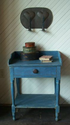 Love the Blue wash Stand