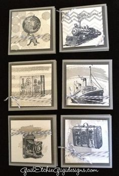 It's a Stampin' Up Party . . . Time to reserve your seat! Traveler project