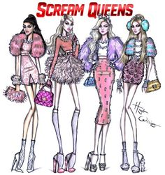 The Chanels  #ScreamQueens