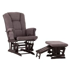 CLICK IMAGE TWICE FOR PRICING AND INFO:-) #baby #babygliders #babyrockingchairs #giftideas #babyshower SEE MORE Baby Gliders and Rocking Chairs at ZBUYS.COM  Status Veneto Glider and Nursing Ottoman