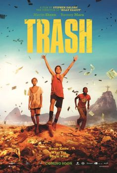 "Trailer e pôsteres do filme ""Trash – A Esperança vem do Lixo""http://cinemabh.com/trailers/trailer-e-posteres-do-filme-trash-a-esperanca-vem-do-lixo"