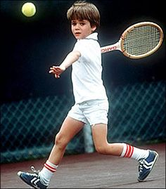 little andre agassi. i'm missing the courts, right now.