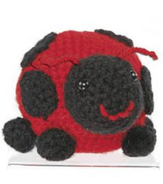 Crochet Lady Bug Pattern from @joannstores | Amigurumi Lady Bug