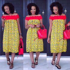 Latest African Ankara Maternity Gowns & Dress Styles for Pregnant Ladies African Print Dresses, African Print Fashion, Africa Fashion, African Fashion Dresses, African Attire, African Wear, African Women, African Dress, Ghanaian Fashion