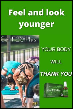 Feel and look younger with GenF20 Plus. The anti-aging benefits of GenF20 Plus will help you feel younger, stronger, and more energetic. It works far more effectively than any other HGH booster, with results to prove it. #genf20 #health #aff #healthyliving Women Lifestyle, Lifestyle Group, Healthy Lifestyle, Look Younger, Healthy Tips, Anti Aging, Bodybuilding, Healthy Living, How Are You Feeling