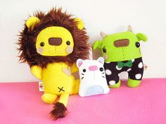 Woo another trade with Danielle!   These three toys are alre…   Flickr