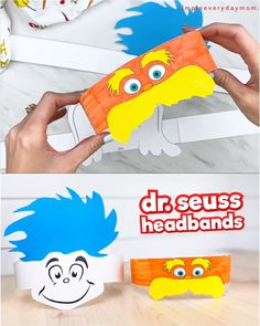 Free Printable Dr. Seuss Hats
