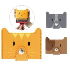 Porte Cartes Zoo (différents modèles) Mode Geek, Kawaii, Card Case, Usb Flash Drive, Geek Stuff, Wallet, Quirky Gifts, Objects, Cards