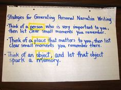Personal Narrative   # Pin++ for Pinterest #