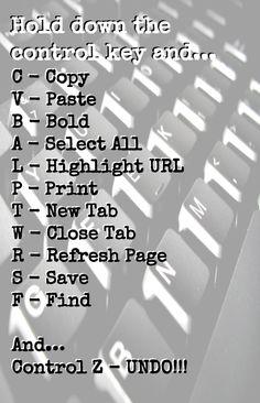 Keyboard Shortcuts - Teacher Tech