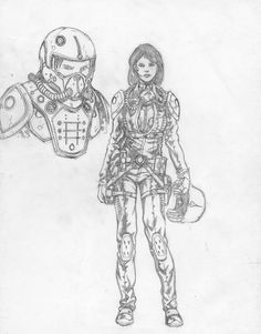 Tracy Freeman pilot concept by ~philorion7 on deviantART