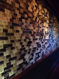 The restaurant has a wall made of cassettes. (Windsor - Phoenix, AZ) (xpost from r/mildlyinteresting) - Imgur