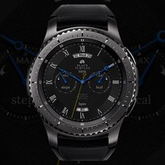We are making the watch face of Samsung gear. Thank you for coming! Stylish Watches, Luxury Watches, Watches For Men, Sky Watch, Wearable Device, Watch Faces, Omega Watch, Smart Watch, Fashion Photography
