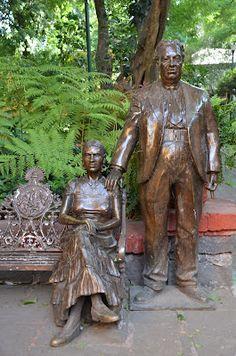 Monumento de Frida y Diego.