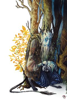 "inkyami: "" Leshy ([Leshii'] рус. Леший ""Forest man"") — a woodland spirit, the master of forests in east-slavic (and most-commonly russian) mythology, protector of local flora and fauna. In most tales..."
