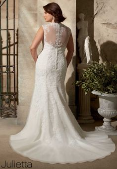 Modelo 3177 de la colección de #novia #Julietta de #MoriLee . #impresionante.
