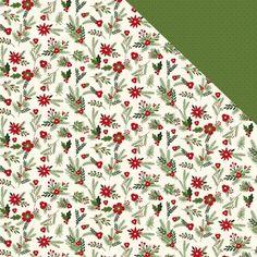 Papper Carta Bella Christmas Delivery Festive Florals Christmas Delivery, Florals, Floral, Flowers