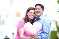 Disneyland Engagement Session: Caitlin + Derek | Magical Day Weddings | A Wedding Atlas Fan Site for Disney Weddings