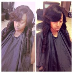 Full lace closure sew in. My hair my closure also!! #houston #hair #houstonhair #houstonhairstylist #hairstylist #stylist #bookwithme #sewin #laceclosure #silkbaseclosure #braids #weaves #virginhair #brazilianhair #indianhair #peruvianhair #malaysianhair #extensions #beautysalon #hairsalon #bob #quickweave #weaveologist