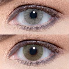 Which one do you prefer ? Top: Hidrocor Cristal Bottom: Hidrocor Mel #solotica_melbourne #eyes #colorlens #contactlens