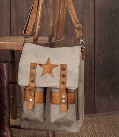 Star Saddlebag Shoulder Bag