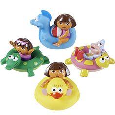 Munchkin Dora the Explorer Bath Squirters *** More info @