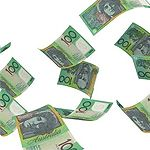 Who is making it rain $100 notes on the freeway in Perth? -