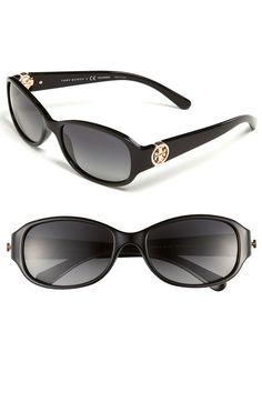 e4ade048c700 Tory Burch 56mm Polarized Sunglasses Ray Ban Original