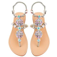 Mystique Sandals features unique hand crafted leather women's sandals that are embellished with jewelry Cute Sandals, Cute Shoes, Me Too Shoes, Shoes Sandals, Women Sandals, Shoes Women, Pretty Sandals, Sandal Heels, Sandals Outfit