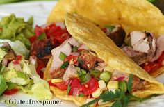Spicy Sweet Pork Grilled Tacos