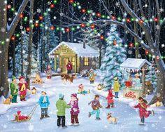 Woodland Skaters Jigsaw Puzzle 1000 Piece Vermont Christmas Company http://smile.amazon.com/dp/B00JXMHA4U/ref=cm_sw_r_pi_dp_o8hqub1E74CC4