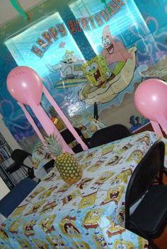 Spongebob Party Ideas. Balloon Jellyfish