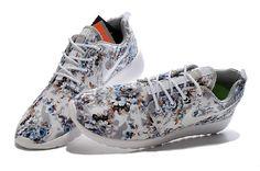 size 40 c6faa c72b9 Nike Roshe One Sprzedaż Na Niebieski Biały Brązowy Online - trampkitanio.com  Runing Shoes,