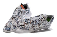 hot sale online 5c426 f7293 Nike Roshe Run Painted Brown Navy Floral White - Nike Roshe Run