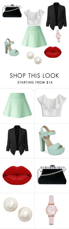 """""""Pre prom"""" by rhian05021 ❤ liked on Polyvore featuring RED Valentino, Chicwish, LE3NO, Call it SPRING, Winky Lux, Dolce&Gabbana, Kate Spade and Emporio Armani"""