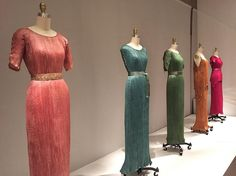 Dresses by Mario Fortuny and the Metropolitan Museum of Art ~ Stunning and rich colors ~