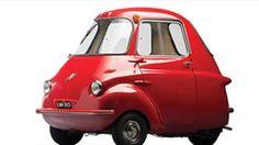 SCOOTACAR MK I 1959                                  De este modelo sólo se fabricaron 1,500 unidades. (Foto: Cortesía CNNMoney.com)