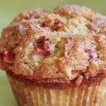 Auntie Bea's Amazing Rhubarb Muffins