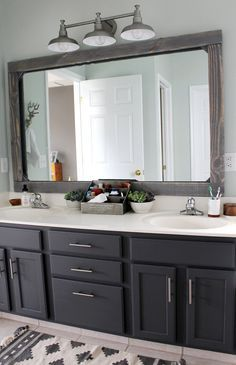Just A Few Weeks Ago We Finished Our Master Bathroom Makeover On A Tiny  Budget (