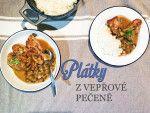 Vepřové plátky s omáčkou Pork Meat, Chana Masala, Menu, Cooking, Ethnic Recipes, Daughter, Food, Menu Board Design, Kitchen