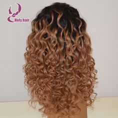 180% density ombre blonde natural wigs curly lace front glueless human hair wigs white women 8a unprocessed hair two tone wig