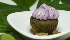 had to pin this one, too -- Acorn Cupcakes with Wild Grape Cream Cheese Frosting from The 3 Foragers
