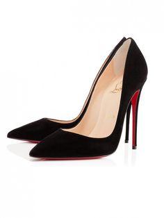 Christian Louboutin So Kate Heels in Black // classic black heels