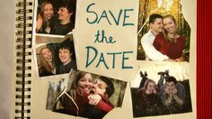 Make a video to share your wedding date with family and friends! Here's our Amelie inspired Save the Date video.