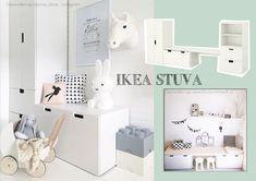 Soms is het moeilijk om in de winkel alle mogelijkheden te zien. Dat geldt wat mij betreft ook voor de IKEA Stuva kast. Deze kast is basic maar jeetje...wat kan je hier ontzettend veel mee! Ik heb schitterende foto-voorbeelden gevonden van hoe deze IKEA kast op de kinderkamer kan staan. Dus meer behoefte aan opbergruimte? Baby Bedroom, Baby Boy Rooms, Kids Bedroom, Ikea Nursery, Nursery Room, Ideas Habitaciones, Ikea Kids Room, Study Room Decor, Kids Room Organization